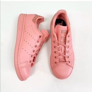 Adidas originals stan smith sneakers monotone pink